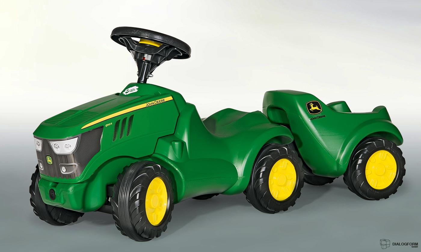 Industrial Design / Industrie Gestaltung Dialogform - Spielzeug Rutscher, Minitrac - rollyToys