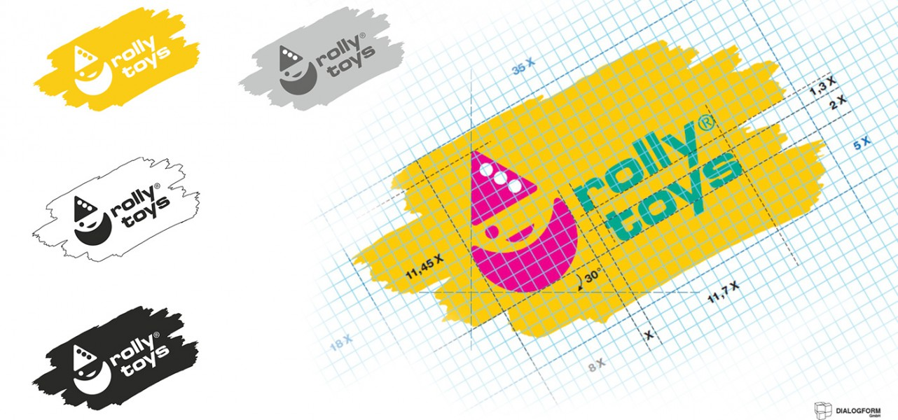 Corporate Design von RollyToys