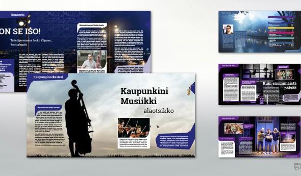 Konzept für Kulturmagazin